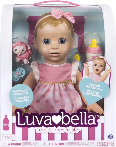 Luvabella Blonde Hair Retail Packaging