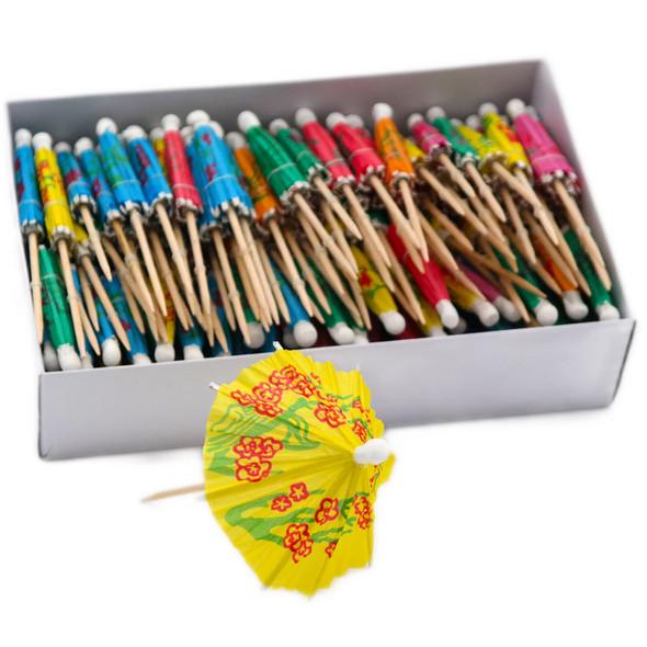 144 Cocktail Stick Umbrellas (Parasol)