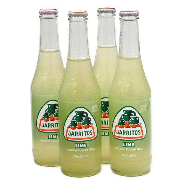 Jarritos 4 x 370ml Bottles Original Lime Soda