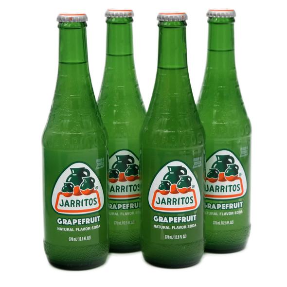 Jarritos 4 x 370ml Bottles Original Grapefruit Soda