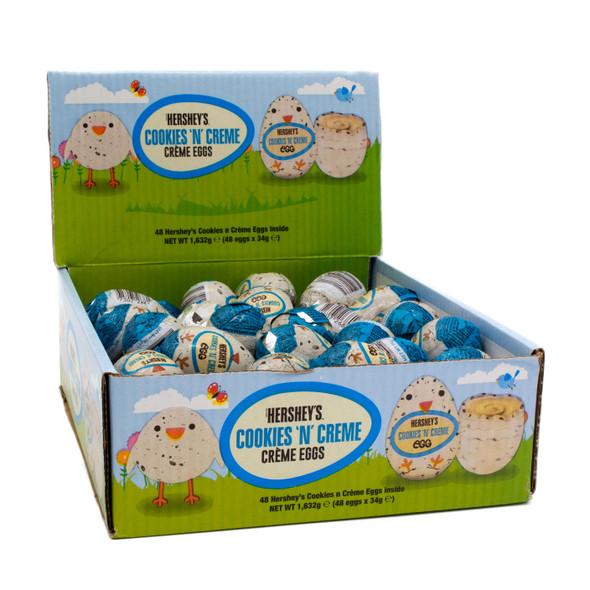 Hershey's Cookies N Creme Eggs Box of 48 (Date 05/06/21)