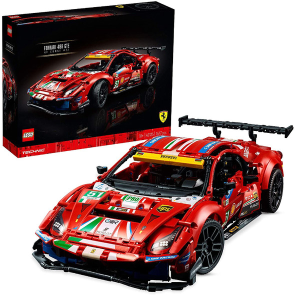LEGO 42125 Technic Ferrari 488 GTE