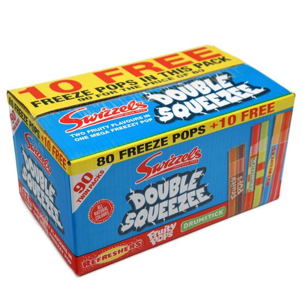Swizzels Double Squeezee 90 Ice Pop Twin Pack