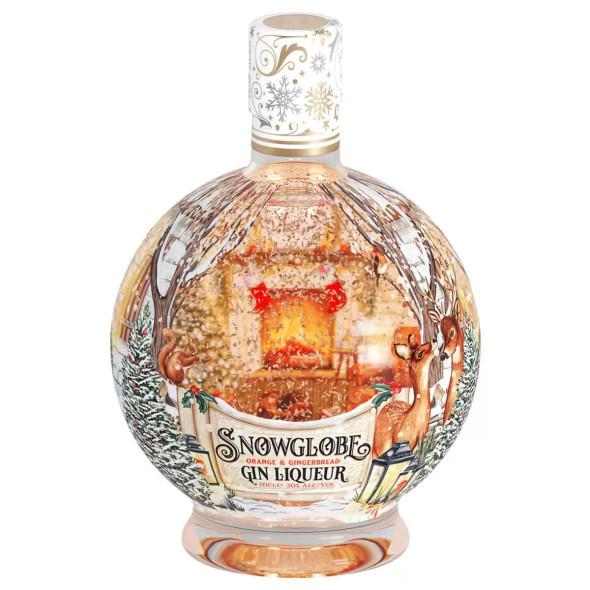 Snow Globe Orange & Gingerbread Gin Liqueur, 70cl