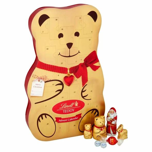 Lindt Teddy 3D Advent Calendar 310g