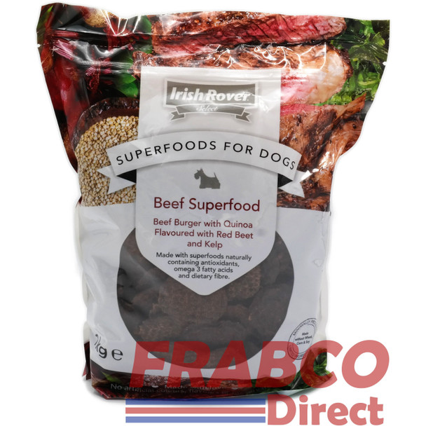 Irish Rover Superfoods Chicken Meat Treats for Dogs 1KG