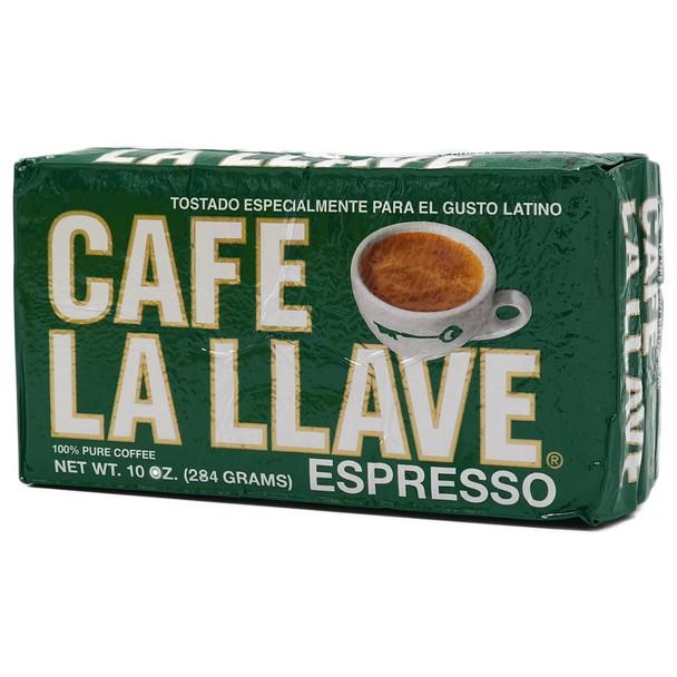Cafe La Llave 10oz Ground Espresso Brick