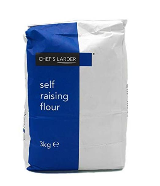 Chefs Larder Self Raising Flour - 1 x 3kg