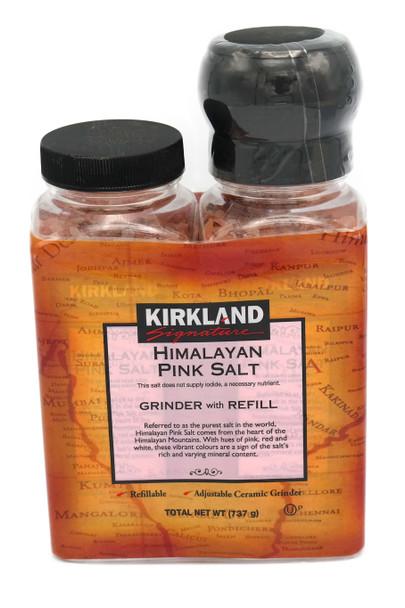 Himalayan Pink Rock Salt Grinder with Refill 737g