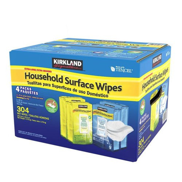 Household Surface Extra Large Disinfect Wipes