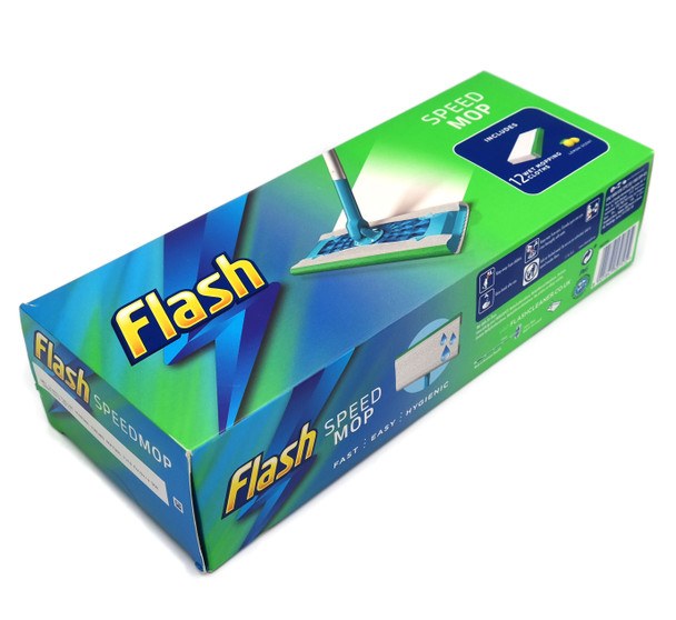 Flash Speedmop Starter Kit, Fast Easy and Hygienic Floor Mop, for Any Type of Floor