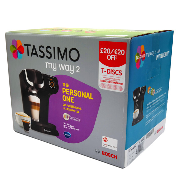 Bosch Tassimo My Way 2 Beverage Maker / Coffee Machine