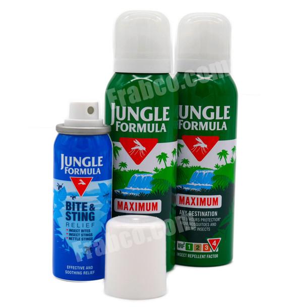 Jungle Formula Travel Combi-Pack Insect Repellent