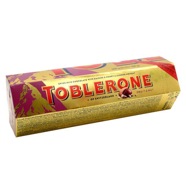 Toblerone Fruit & Nut Gift Tin 6x100g
