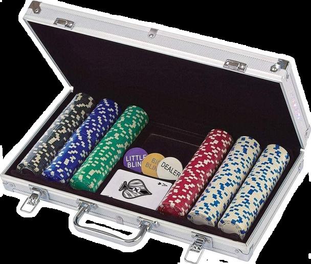 (300-Piece) Poker Set in Aluminum Case
