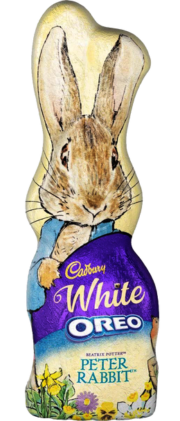 Cadbury White Chocolate Oreo Peter Rabbit Bunny 100G