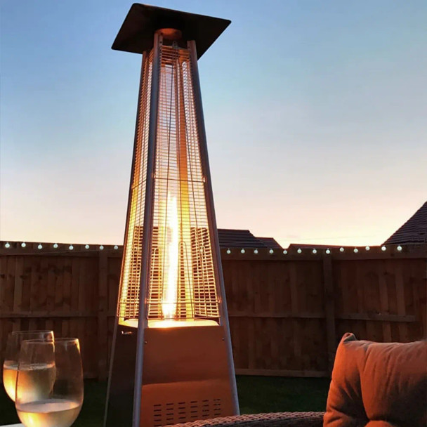 Hiland Patio heater illustration only