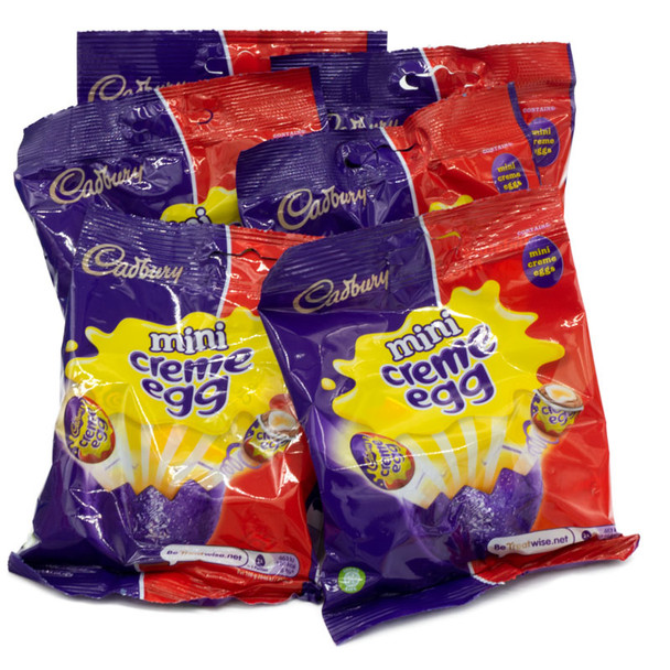 Cadbury's Mini Creme Egg Bags 89g (6 Bags)