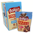 Bakers Sizzlers Bacon Flavour Meaty Treats 90g (Box of 6)
