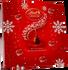 Lindt Lindor Mini Desktop Advent Calendar 109g