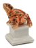 Marion Stewart 060819 Toad Porcelain Sculpture One of a kind