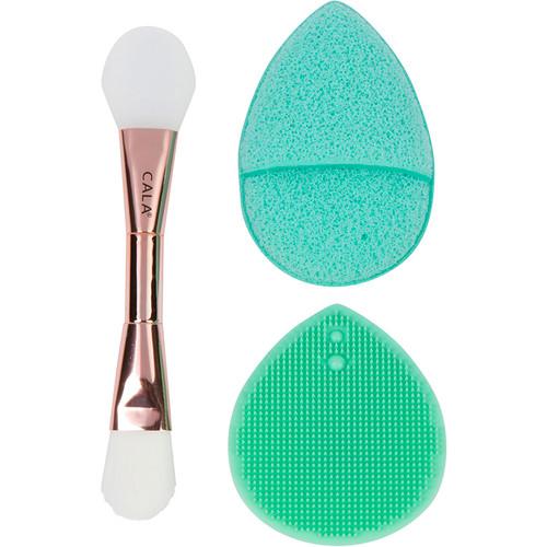 Mask Brush Exfoliator Set