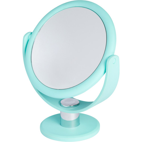 Soft Touch Makeup and//or Shaving Mirror in Purple