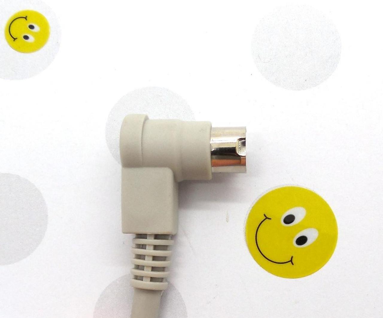 PLC Cables, Inc Allen Bradley Micrologix Cable serial 1761-CBL-PM02 90 deg end