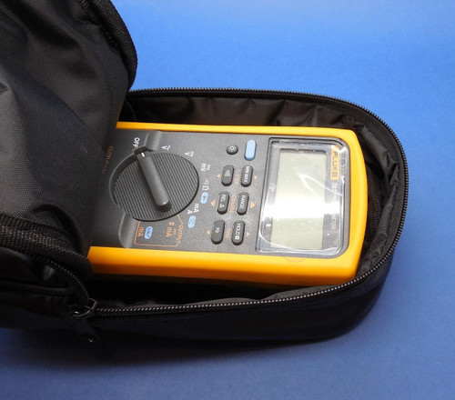 PLC Cables, Inc Soft Black Carrying Case 114 115 116 117 174 177 179 85v C35 C25