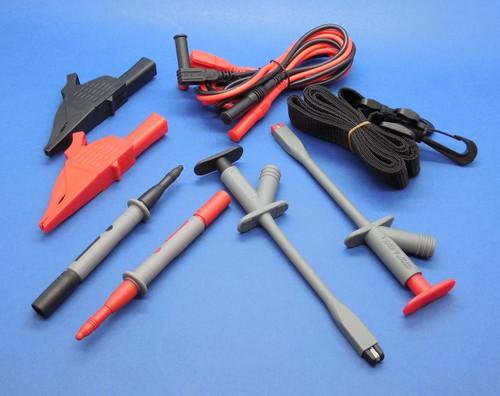 PLC Cables, Inc Soft Black Carrying Case Leads similar TLK-220 4WRD9 Test Lead