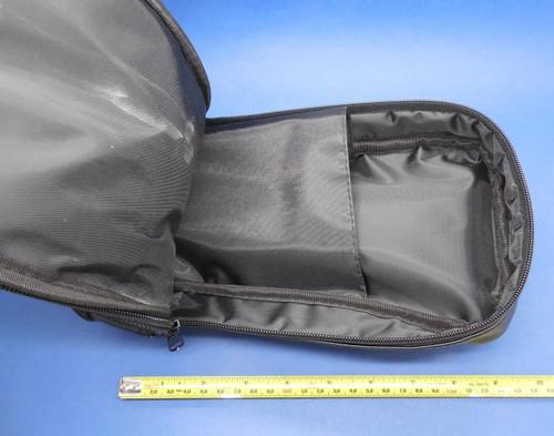 PLC Cables, Inc Soft Vinyl Black Carrying Case detachable pouch 287 289 787 789 C781 Set