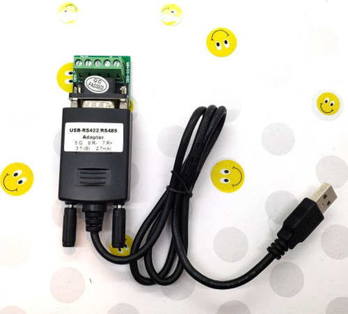 PLC Cables, Inc USB to RS485 or RS422 Communication Cable 2 or 4 wire w/ Breakout Board