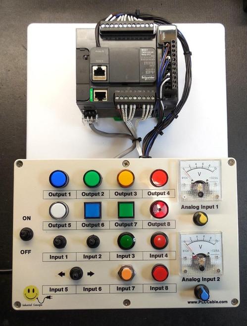 PLC Cables, Inc Schneider Modicon Ethernet Analog Trainer PLC Training SoMachine Basic