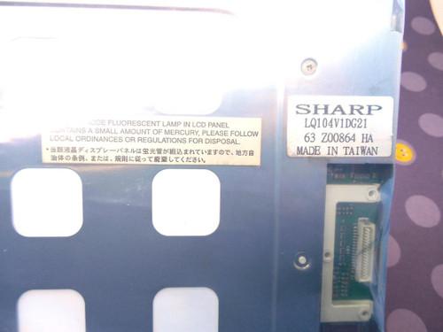 Sharp Sharp LQ104V1DG21 10.4 640x480 TTL 31 pin interface, LCD Display
