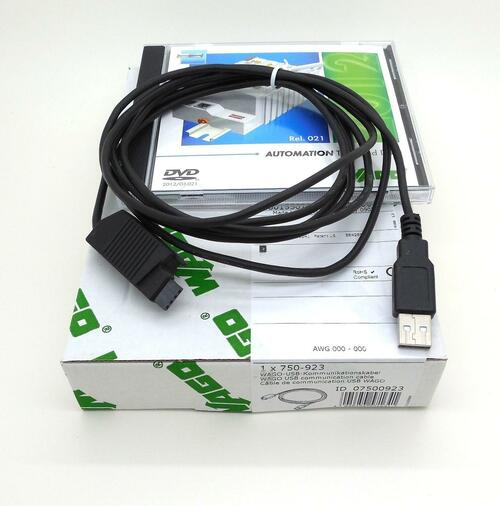 PLC Cables, Inc WAGO PLC Trainer Deluxe 750-842 Digital Analog and Ethernet CoDeSys Software