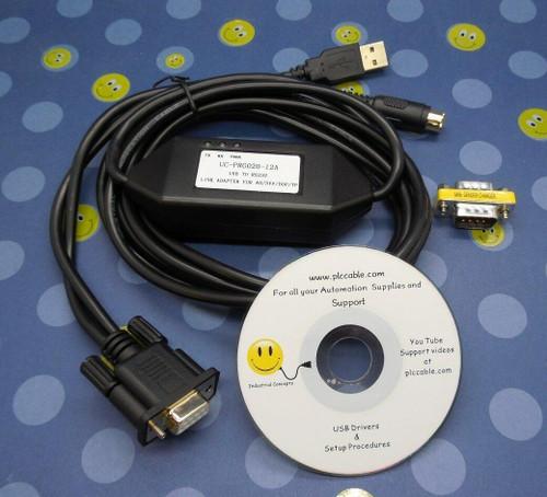 PLC Cables, Inc Delta DVP-ES24 PLC Trainer - PLC Training Kit ISPSoft UC-PRG020-12A