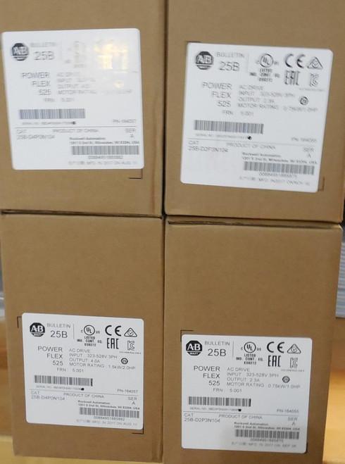 Allen Bradley Allen-Bradley PowerFlex 22F-D4P2N103 - 4M AC Drive 480V AC 2 HP
