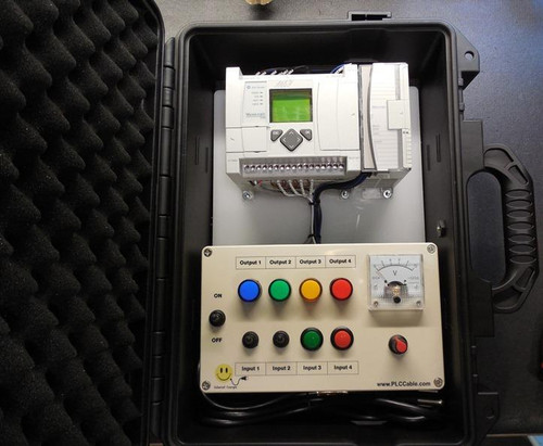 Hard Protective Lockable Case for PLC Trainer, Electrical Meter, Camera 13x8x5