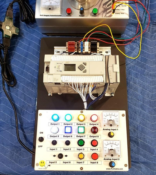 PLC Cables, Inc Allen Bradley Deluxe Complete PID PLC Trainer Analog and Digital and PID MicroLogix 1400