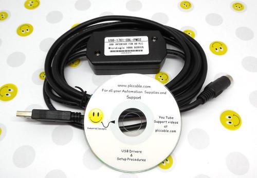 Allen Bradley Allen Bradley USB 1761-CBL-PM02 for All MicroLogix PLC communication