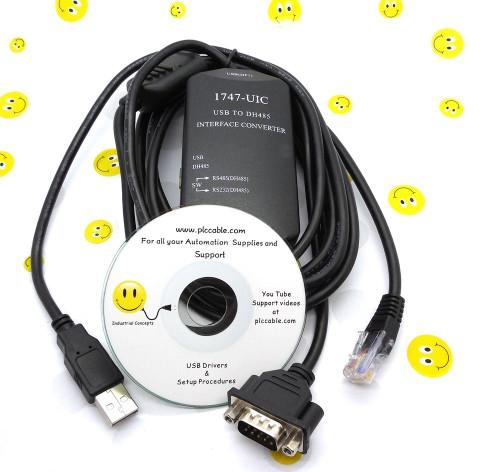 Allen Bradley Allen Bradley 1747-UIC USB to DH485 USB Version 1747-PIC SLC 500