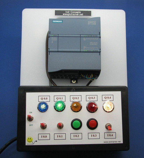PLC Cables, Inc Siemens S7 1200 PLC Trainer, Cable, Software TIA Portal, Ethernet