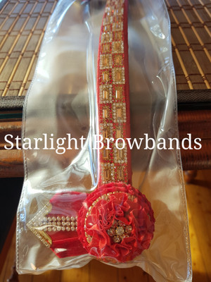 In stock 13 inch banding red gold no 348