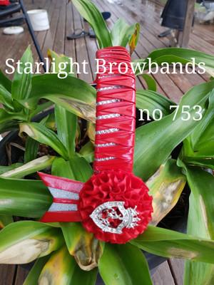 753 starlight Browbands