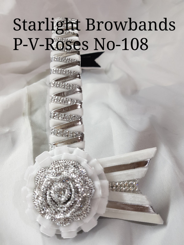 In stock 16inch tiger patent roses 108