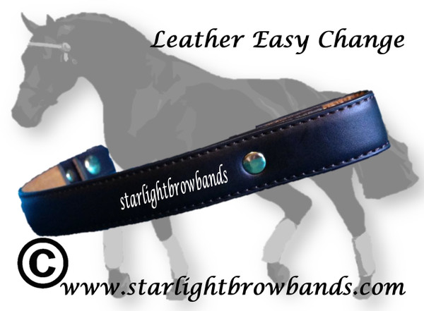 Plain leather easy change