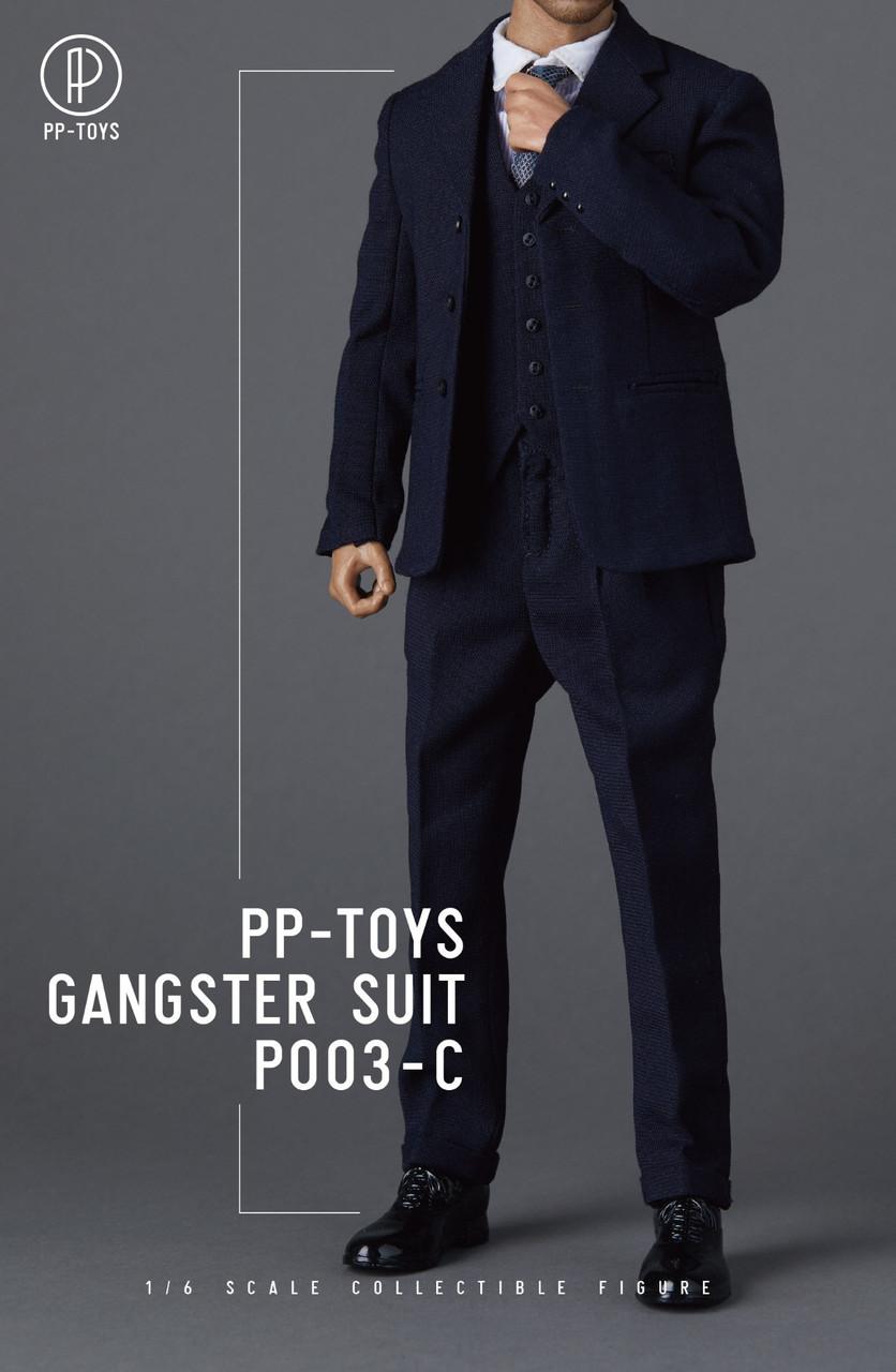 """PP-TOYS 1//6 P003D WWII British Retro Suit Clothes F 12/"""" Male Figure Body Presale"""