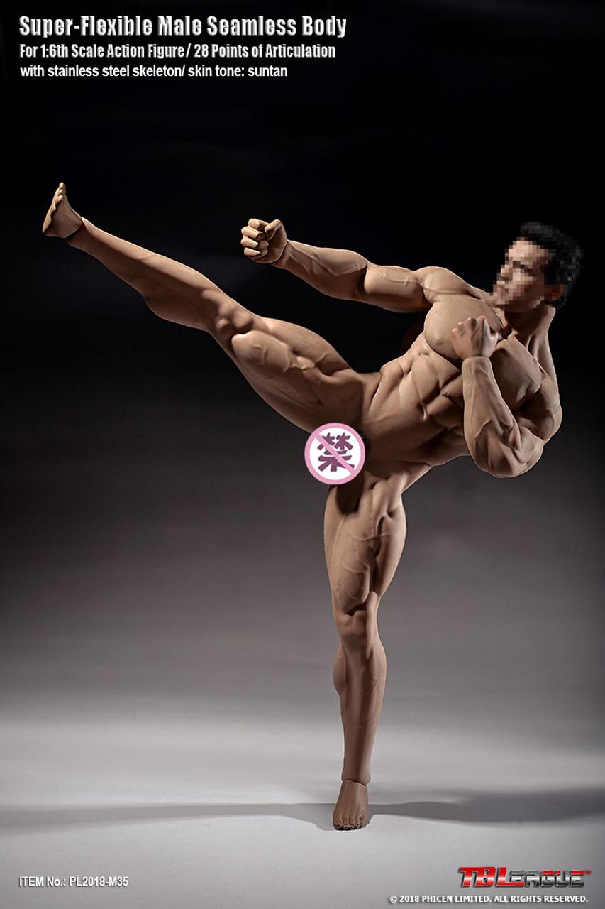 TBLeague 1//6 Super Muscle Man Body M35 Phicen Seamless Strong Muscular Figure