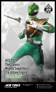 ACE TOYZ 1/6 classic mighty superhero 'Green Hero' figure (in stock)