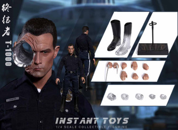 INSTANT TOYS IT-002 1/4 scale Terminator T-1000 figure (In Stock)